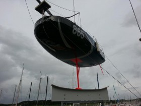 Hier ist die um das Vorschiff herum geführte Kimmkante gut zu sehen © Davy Beaudart