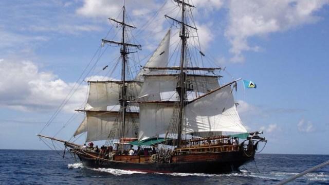 """Ein bisschen in die Jahre gekommen, vielleicht, aber die """"Unicorn"""" galt eigentlich als """"gesundes"""" Schiff © wikimedia"""
