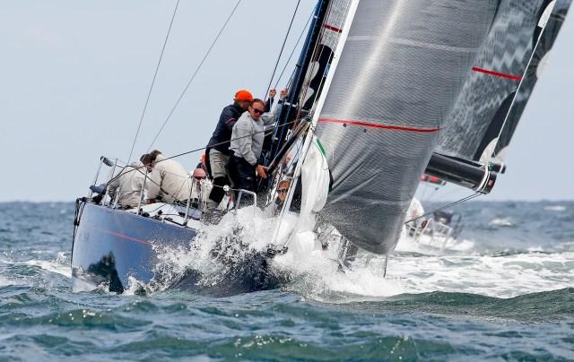 Die 'LEU' büßte am Montag die Führung der ORC-II-Gruppe durch kleine Fehler ein.  Foto: OKpress / Kieler Woche