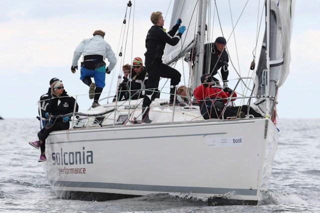 Das neue, zweite HSC-Jugendboot 'Solconia' wurde auf Anhieb deutsche ORC-III-Meisterin.  Foto: OKpress / Kieler Woche