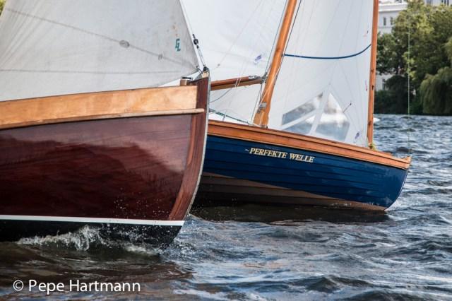 """Die guten alten Holzrenner – mal wieder vereint auf der """"Summer Classics"""" © pepe hartmann"""