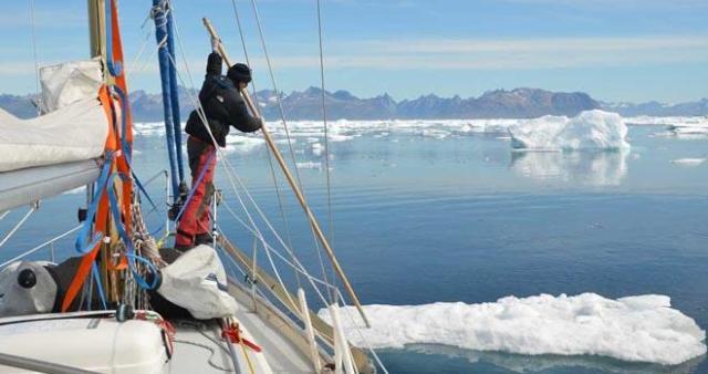 Von wegen locker durchsegeln – die Nordwest-Passage ist vielleicht das letzte Abenteuer unter Segeln © goose
