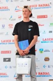 Laser Radial Jugend Vizeweltmeister Nik Willim