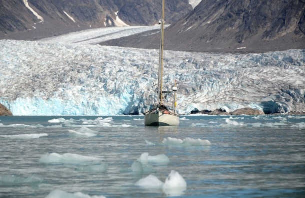 Ankern vor Gletscherzungen © goose