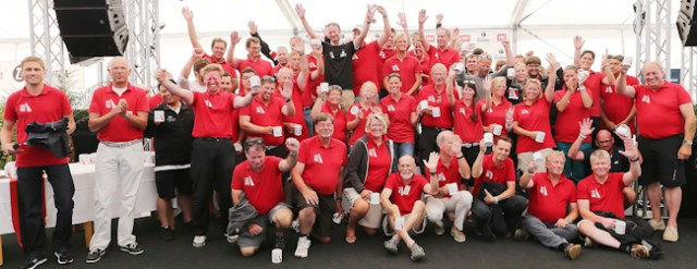 Das 120-köpfige Helferteam des Kieler Yacht-Clubs durfte stolz auf seine ORC-Rekord-WM sein.  ©segel-bilder.de