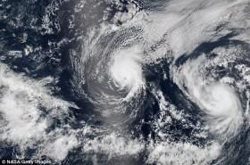 Der Hurrikan Julio © NASA Getty Images