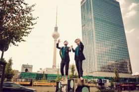 "Seenomaden auf Landgang – ab Oktober offiziell ""on tour"" © sc"