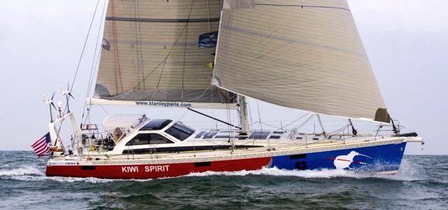 """Stanley Paris ist wieder auf der """"Kiwi Spirit"""" unterwegs! © paris"""