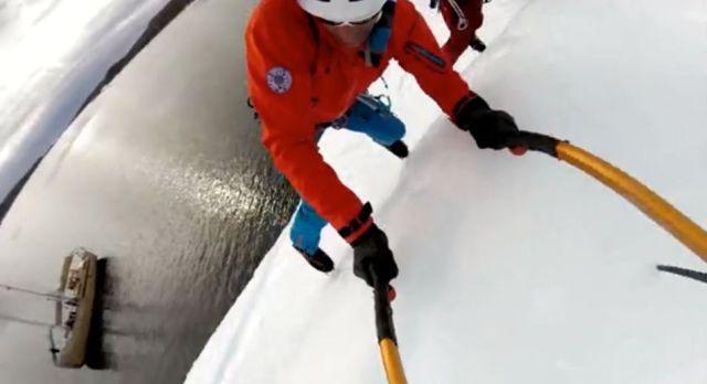 Eis Klettern, Segeln, Grönland