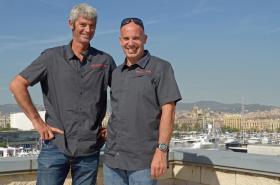 Sebastien Audigane (links) und Jörg Riechers segeln schon seit Langem zusammen © martin-raget