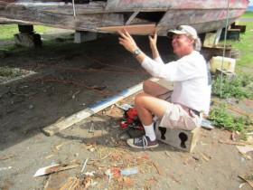 Randy während der ersten Restaurierung © west