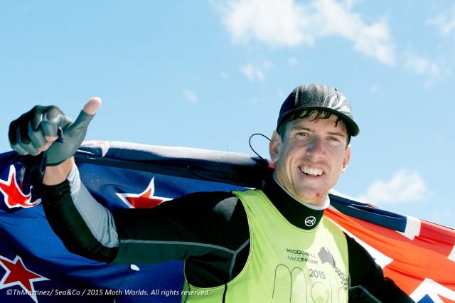 Peter Burling, der beste Schnellsegler der Welt. © Thierry Martinez./Moth Worlds