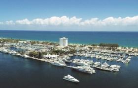 Blick auf die 'weiße Flotte' in Fort Lauderdale. So sehen die Häfen heute aus © Bahiamarhotel