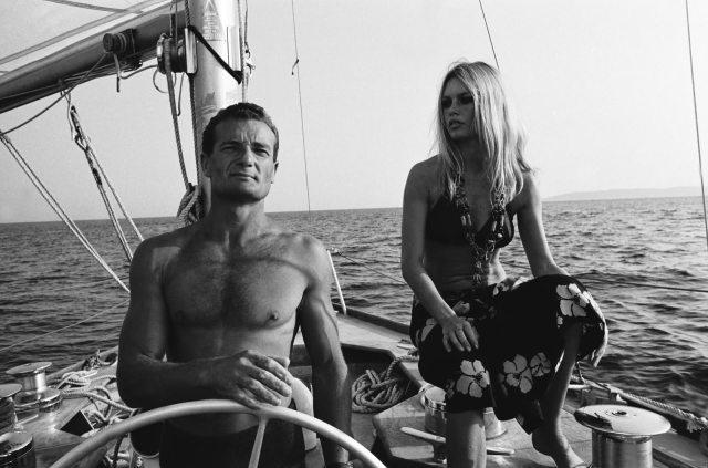 Zwei französische Superstars im Karriere-Zenit: Tabarly und Bardot © Cité de la voile