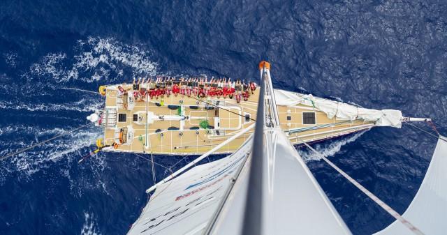 Reichlich Platz auf der 70-Fuß-Yacht © CRW