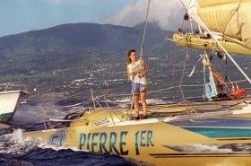 """Arthaud auf ihrem gelben Erfolgstri """"Pierre 1er"""" © smithson"""