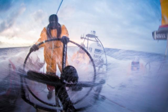 Fels in der Brandung © Matt Knighton / Abu Dhabi Ocean Racing / Volvo Ocean Race