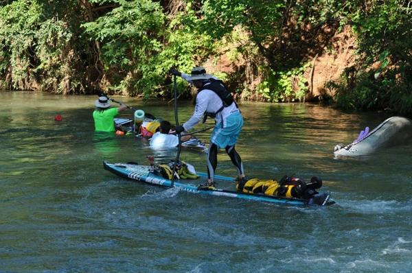 2013 fuhren die ersten SUPs über die gesamte Strecke Water tribe