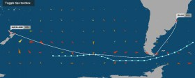 Die härteste Etappe rund Kap Horn.