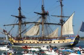"""Start bei """"eingeschränktem Bootsverkehr"""" © hermione2015"""