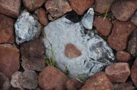 Steine aufeinanderstapeln war gestern - heute gibt es Fish-Art! © Maike Christiansen