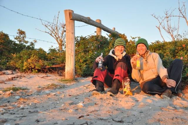 Svenja und Maike, die uns Lust auf die kommende Ostsee-Tour gemacht haben © Maike Chistiansen