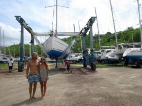 Abenteuer, Weltumseglung, Elayna und Riley