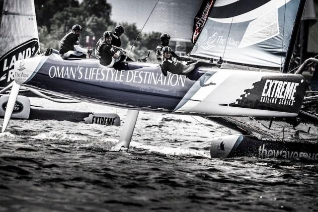 2015 Extreme Sailing Series - Act 5 - Hamburg