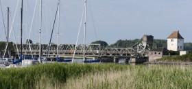 Die alte Lindaunis Brücke