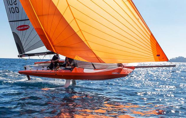 Quant 23, Foil, European Yacht Award Test