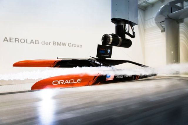 Oracle Team USA BMW Aerolab