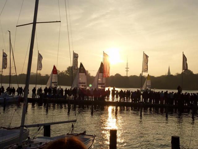 Segel Bundesliga Hamburg