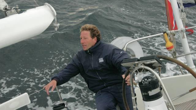 Der unglückliche Skipper Guttorm Guttormsen aus Norwegen.