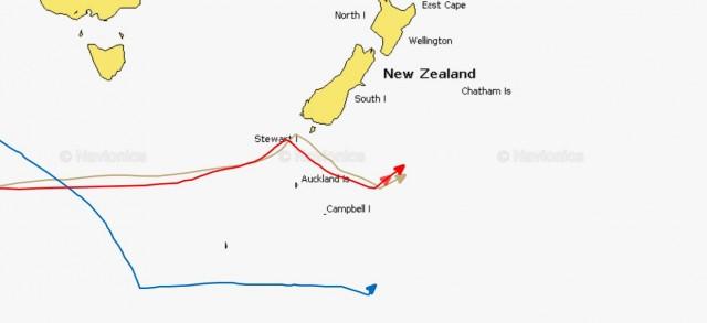 Die beiden Kontrahenten liegen real nahezu gleichauf. Die schwächer rote Spitze zeigt IDECS Abstand zum Rekord, weil sie zwei Stunden früher gestartet ist.