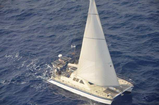Rettung auf Hoher See, Katamaran, Seenot