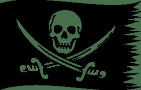 Piraten, Segler, Überfall, Karibik