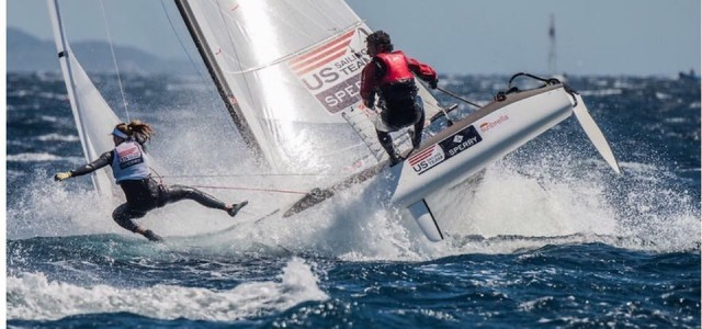 World Cup Hyeres Nacra