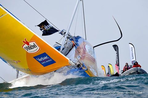 Jean-Pierre Dick Vendee Globe