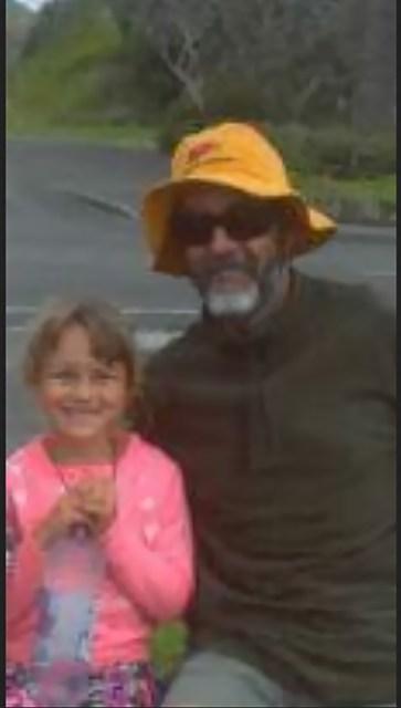 Vater und Tochter Langdon. © privat