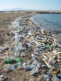 Plastik, Müll, Meeresverschmutzung, Mittelmeer