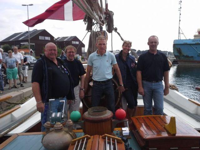 Der DF-Parteivorsitzende Kristian Thulesen Dahl hat Spaß beim Segeln. © DF