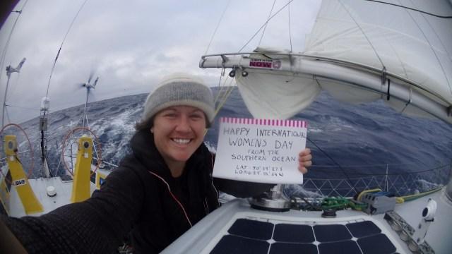 Antarktis, Rekordsegeln, einhand, Australierin