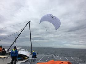Odyssee Race for Water, Skysails, Kite, keine Verbrennungsmotoren