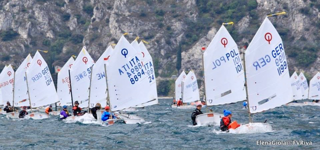 Optimist, Lake Garda meeting
