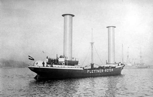 Flettner Rotoren