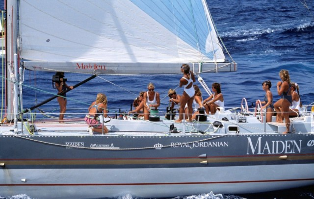 maiden, Whitbread Race, Frauencrew