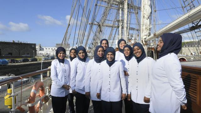 Oman, Frauen, Praktikantinnen