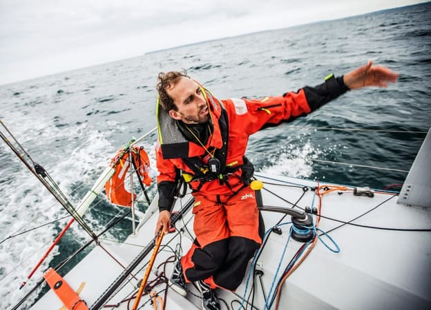 Mini Transat, Simon Koster,