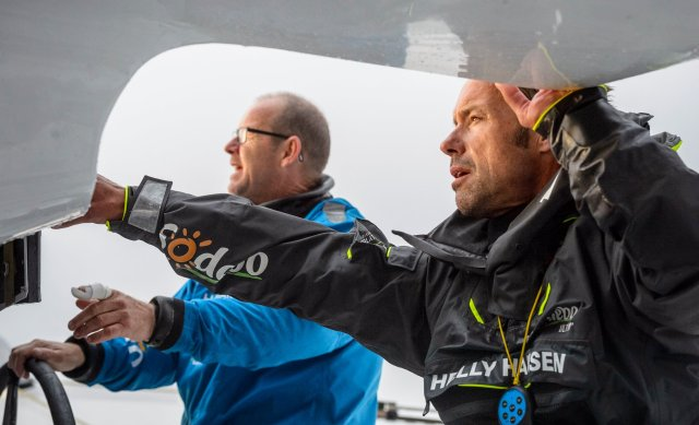 Transat Jacques Vabre, Interview, Thomas Coville