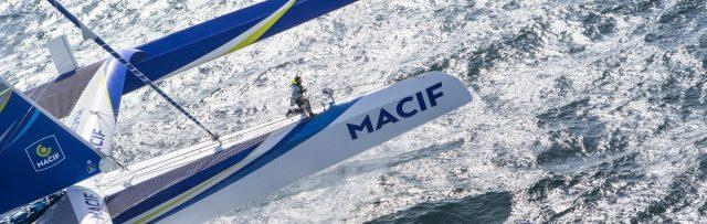 Gabart, Macif, Weltrekord